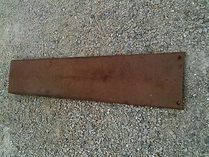 Farmall 1066 966 1466 Tractor Original Ih Ihc Center Hood Section Over Engine