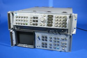 Hp 8566a Spectrum Analyzer With 85662a Display No Cables