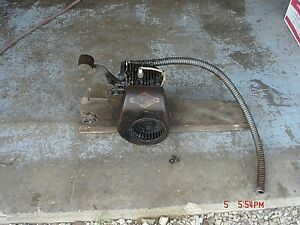 Vintage 1948 Antique Briggs Stratton Wmb Gas Go Kart Engine Kick Start Lot 4