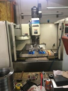 Used Fadal Vmc 4020 Cnc Vertical Mill 1994 88hs 44 20 20 10000 Rpm Ox Ways