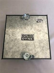 Duro Dyne 10 X 10 Access Door Double Latch 2 5 Dovetail Extension 26ga