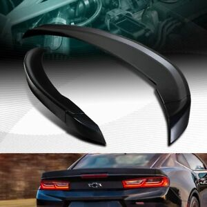 Factory Style 3 Piece Primer Black Rear Trunk Spoiler Fit 16 18 Chevrolet Camaro