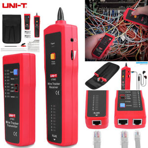 Uni t Ut682 Telephone Network Cable Line Wire Tracker Tester Probe Tone Finder