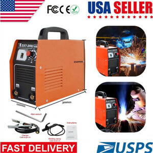Zx7 200 Amp 220v Dc Inverter Welder Mma Arc Igbt Welding Machine Soldering Tools