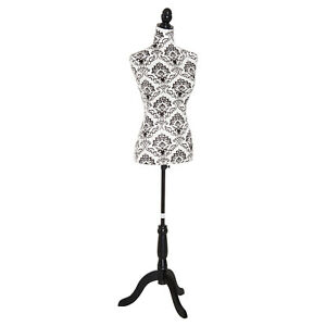 Female Mannequin Dress Form Clothing Display Stand Adjustable W Base