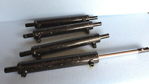 Bobcat Attachment Hydraulic Cylinder Lot Of 4