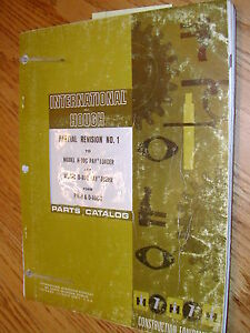 International Hough H 90c D 90c Parts Manual Book Catalog Wheel Payloader Dozer