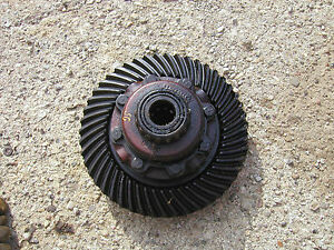 Farmall Sc Tractor Ih Transmission Rearend Pinion Drive Gear Assembly