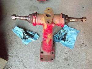 Farmall H Tractor Front Pedestal Spindle Shafts Shaft For Hubs To Tractor