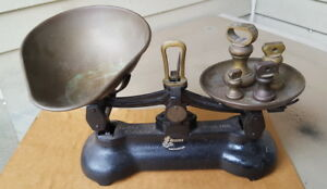 Vintage Candy Scale Libra Scale Co England Brass Cast Iron