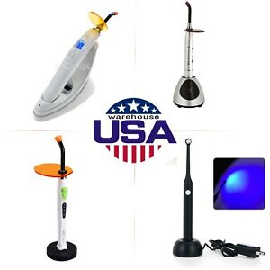 Dental Wireless Led Lamp Curing Light 4 Types Choices Usa Stock