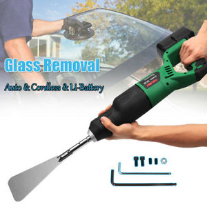 Cordless Auto Car Glass Windshield Removal Cut Out Tool Extractor Li Battery