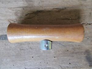 Vintage Nos 1970 s Wood T Handle Shifter W Nylon Insert Hurst B m Cal Custom