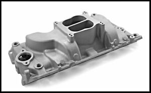 Bbc Chevy Oval Port Satin Intake Manifold Pce 147 1031 Clearance