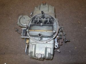 1970 Ford Mustang 428cj Holley 4v C6 Carburetor