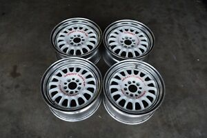 Jdm Sprint Hart Cpr Wheels 15x7 32 5x100 Sqaure Set Rare