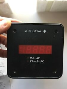 New Yokogawa 249121 1 aaa 0 Power Series Digital Switchboard Meter