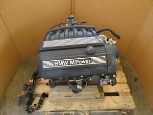 1999 Bmw Z3 M Roadster E36 1043 S52 Inline 6 3 2l Engine Assembly Complete