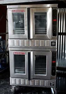 Blodgett Dfg 200 Bakery Depth Double Full size Gas Convection Oven Pulse