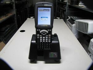 lot 0f 5 Psion Teklogix Workabout Scanner 7527c g2 w Dock And Accessories