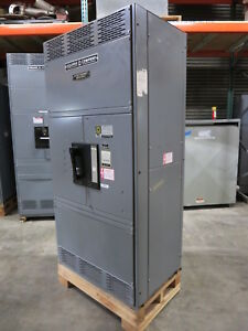 Square D Qed Main Breaker Disconnect Panel 1600 Amp Dc Paf361600dc2c20 500v Dc