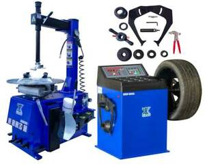 A 1 5 Hp Tire Changer Wheel Balancer Machine Combo 560 680 Free Shipping