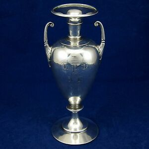 Gorham Antique 1863 1865 Coin Silver Presentation Trophy Civil War Era Bud Vase