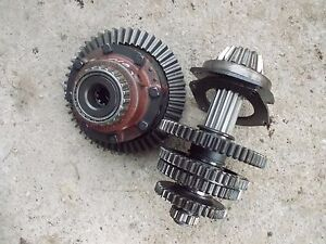 Farmall 560 Tractor Ih Main Transmission Matched Set Bottom Gears Shaft
