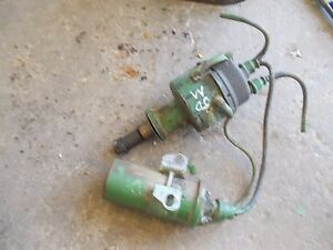 John Deere M Tractor Mt Jd Engine Motor Distributor Drive Assembly
