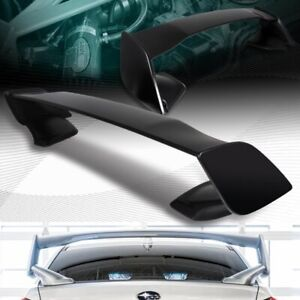 Fit 2015 2019 Subaru Wrx Sti Oe Style Primer Black Abs Rear Trunk Spoiler Wing