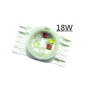 18w Rgbwyv Led Light 45mil 12 Pin Red Green Blue White Yellow Purple Led Chip