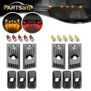 10pcs Top Clearance Cab Marker Smoke Light W5w 5050 Led Bulb For 03 09 Hummer H2