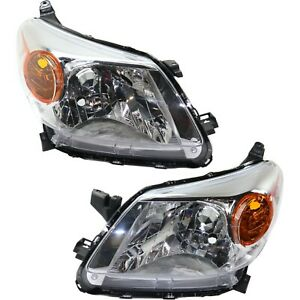 Headlight Set For 2008 2010 2011 2012 Scion Xd Left And Right Capa 2pc