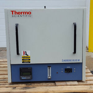 Lindberg Blue M thermo Scientific Box Furnace Oven Very Good Condition