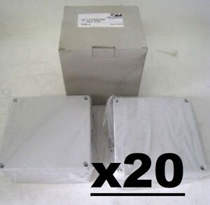 20 Plastic Enclosure For Industrial Electronics T217 5 75 X 2 25 Abs gehause