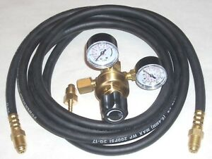 Argon Or Argon co2 Mix Regulator Mig Tig Welding Cga 580 W 10 Inert Gas Hose