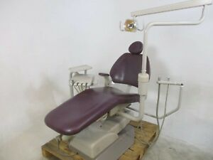 Performer Dental Patient Exam Chair W Delivery System Light