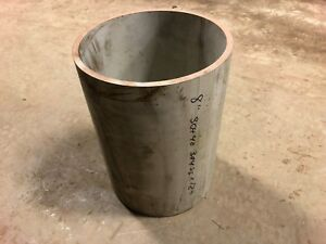 8 Schedule 40 8 625 Od X 8 Id X 12 304 Stainless Steel Tube Pipe