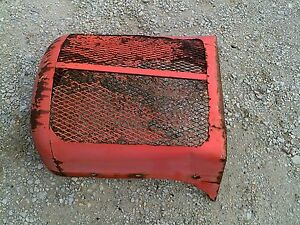 Allis Chalmers Ac Wd45 Wd Tractor Original Front Nose Cone Grill With Wing
