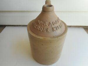 Antique Red Wing Wm Radams Microbe Killer Stoneware One Gallon Jug