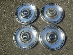 Genuine 1968 Buick Skylark 14 Inch Hubcaps Wheel Covers Set