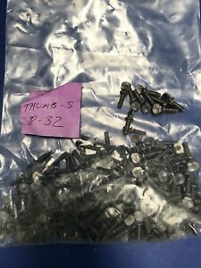 8 32 Thumb Screws With Shoulder Lot Of 175