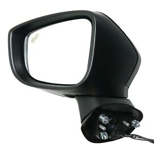 Power Mirror For 2014 2016 Mazda 3 Left Heated With Blind Spot Detect Paintable