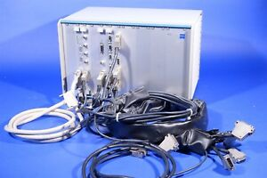 Zeiss Ecu Lsm5 Controller For Laser Confocal Microscope Cables