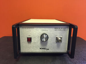 Noisecom Nc6108 Opt 7 100 Hz To 500 Mhz 0 To 10 Db Attenuator Noise Generator