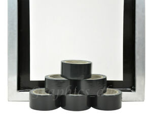 2 Block Out Tape Silk Screen Printing 2 X 40 Yards 6 Rolls Blackout