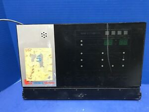 Thermco Tmx 9000 Operator Panel W 140171 001 Rev D Pcb Assembly Used