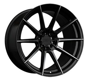 18x8 5 Xxr 567 5x108 112 35 Phantom Black Wheels Set Of 4