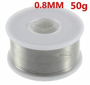 Tin lead 63 37 0 8mm 50g Rosin Core Wire Flux Solder Welding Iron Reel 20pcs