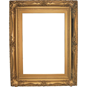 Antique Large Ornate Gold Gilt Victorian Painting Frame Museum Quality